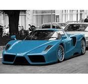 Hd Car Wallpapers Ferrari Enzo Blue