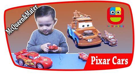 Mainan Mobil Remot Cars Mcqueen Rc Remote mobil mainan anak disney pixar cars mobil balap mcqueen rc dan mobil derek tow mater