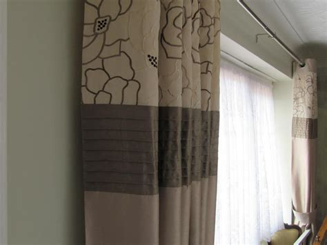 cream and taupe curtains curtains dunelum 2 pairs full length eyelet ring top