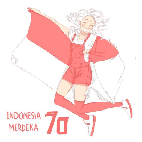 indonesia independence day 2015 happy independence day indonesia ri70 by yanawookie on