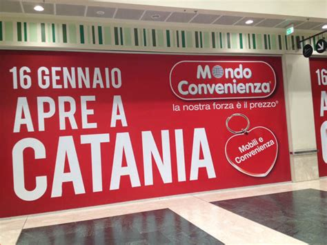 porte di catania come arrivare mondo convenienza catania apre il negozio d arredo mondo