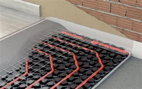 impianti a pavimento giacomini pavimenti e pareti radianti giacomini s p a