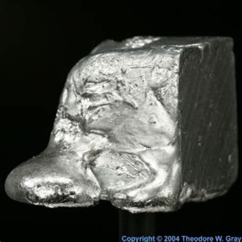 strontium at room temperature gallium 31 ga metal wich melts near room temperature one of the largest liquid ranges of