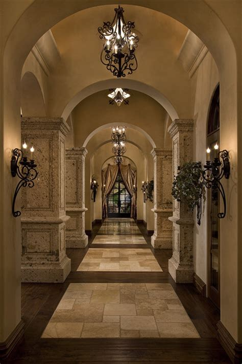 beautiful design ideas tuscan home decor for hall kitchen beautiful mediterranean hallways mediterranean hall