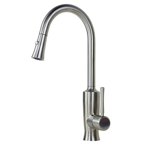 kitchen faucet stainless steel ariel venus stainless steel lead free pull out sprayer