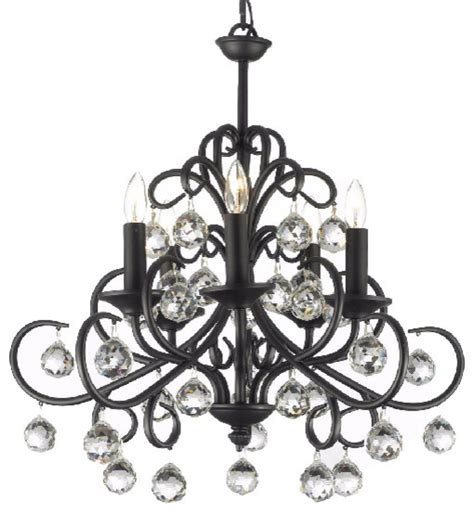 wrought iron kitchen lighting versailles wrought iron and crystal light chandelier