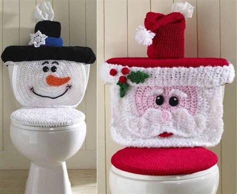 Creative Diy Home Decor by Creative Ideas Diy Christmas Crochet Toilet Cover