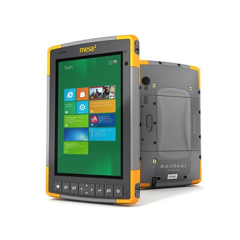 Rugged Tablet For Harsh Environments Maintenance Technology Rugged Tablet For