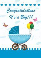 baby boy greeting card template printable baby cards