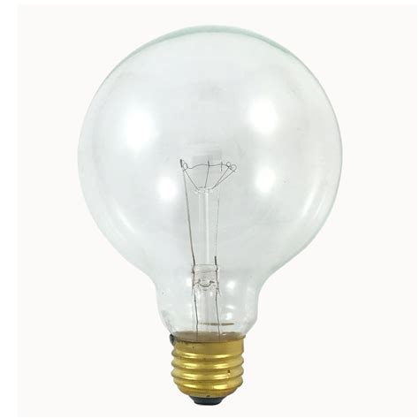 what is an e26 light bulb satco s3652 40w 120v globe g30 clear e26 base incandescent