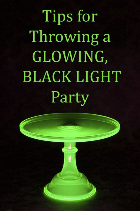 theme junkie blacklight tips for a black light party tip junkie