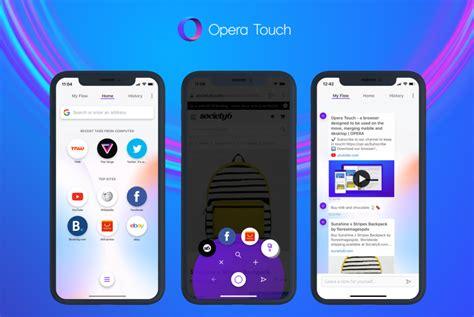 iphone xs max の大画面に特にお勧め opera touch ブラウザのios版登場 itmedia mobile