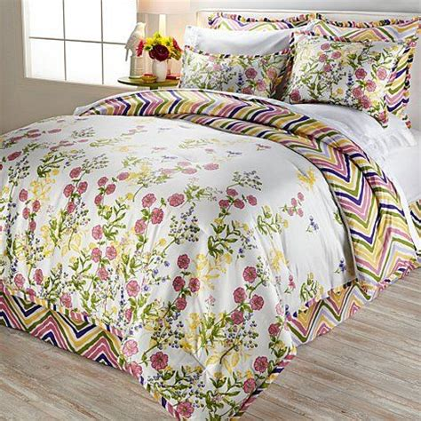 cottage style comforter sets madcap cottage meadow flowers 6 comforter set my