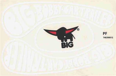 Bobby Car Aufkleber Maße by Big Bobby Car Stickers Aufkleber F 252 R Trailer Anh 228 Nger Classic