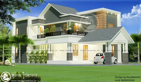 home design for 2000 sq ft 2000 sq ft contemporary 4 bhk renovated home design