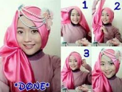 tutorial jilbab untuk kebaya sederhana aneka cara memakai jilbab untuk kebaya 2016 kumpulan