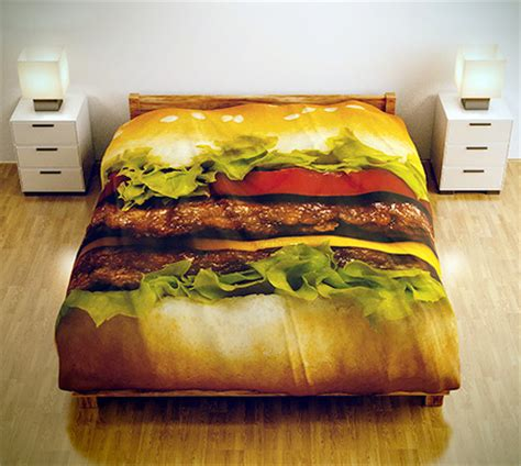burger bed hamburger bed