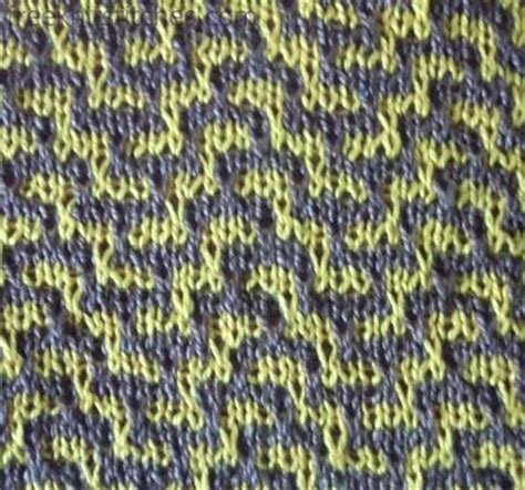 two color knitting two color knitting pattern labyrinth