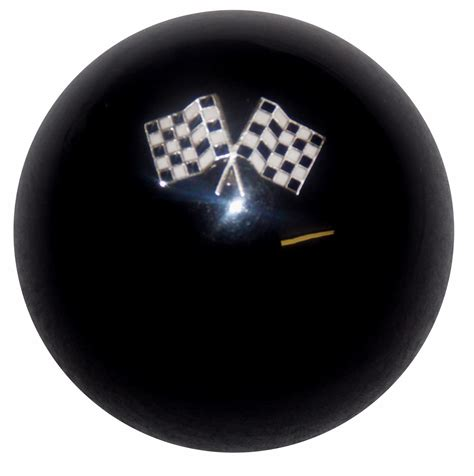 Black Knobs by Checkered Flag Black Shift Knob
