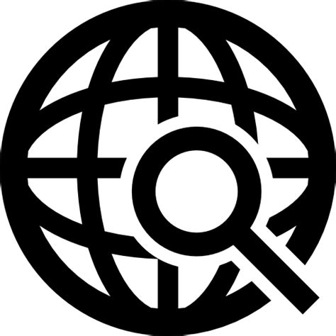 International Free Search International Search Symbol Free Interface Icons