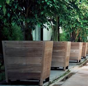 best 25 tree planters ideas on log planter