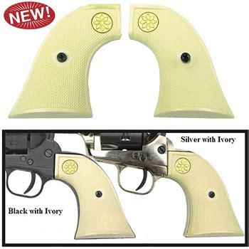 Peacemaker 22 Caliber Blank Firing 1873 peacemaker 6mm blank gun black ivory grips western