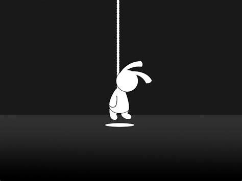 imagenes suicidas hd suicidio conejito fondo de pantalla para el escritorio
