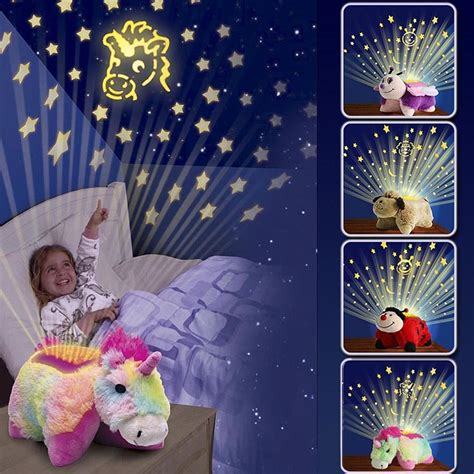 animal light childrens cuddly pet pillow cushion