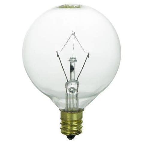 130v 40w light bulb sunlite 40w 130v globe g16 5 e12 incandescent light bulb