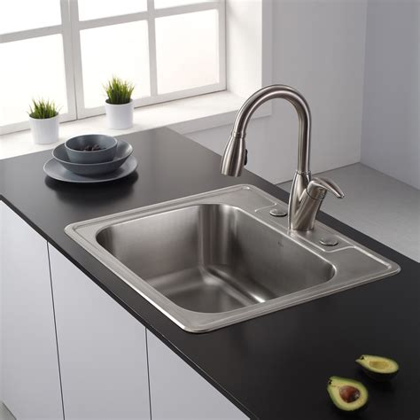 square undermount stainless steel kitchen sink