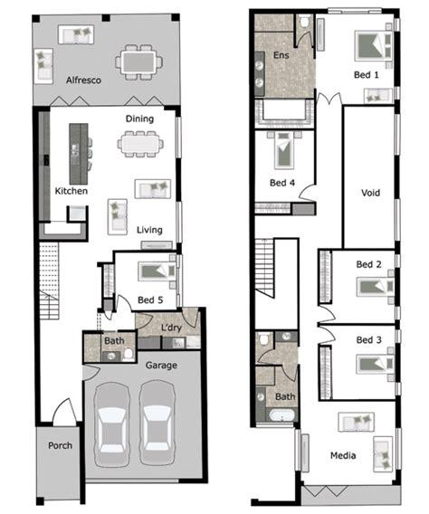 lincoln   small lot  narrow block home design  gw homes  leading brisbane home