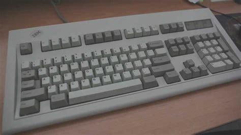 Keyboard Ibm ibm model m clicky keyboard review