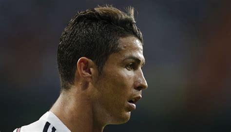 standard businessmans haircut cristiano ronaldo slump hurts real as in form messi drives