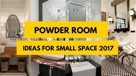 Small Powder Room Ideas by 45 Best Powder Room Ideas For Small Space 2017 Youtube