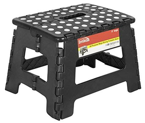 9 Inch Step Stool by Folding Step Stool 9 Inch Height Premium Heavy Duty