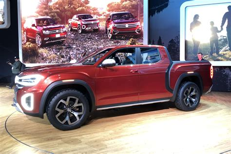 Vw Truck by Vw S Atlas Truck Concept Is Real But Don T Get