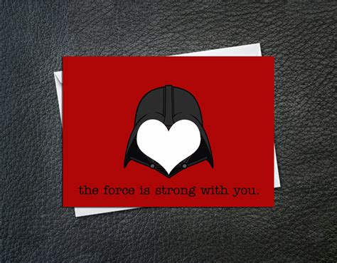 geeky card is strong vader card a bye baby