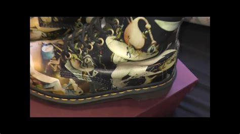 Dr Martens Pascal Hell 8uk dr martens original pascal 8 eye boots heaven hell 1460