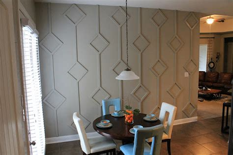 wall treatments make them wonder diy diamond wall treatment how to guide
