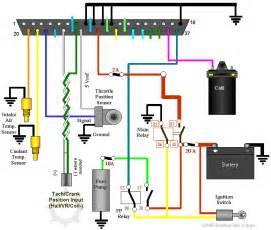 points ignition system auto parts diagrams