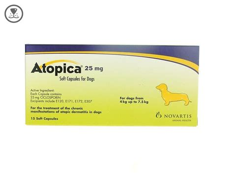 atopica for dogs atopica 25mg capsules