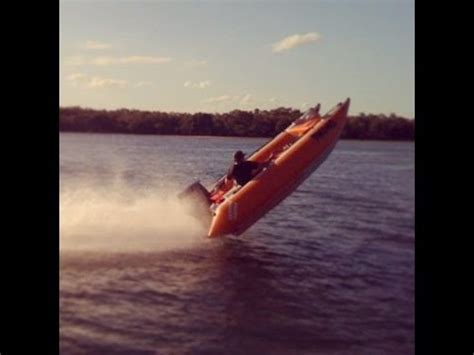 bullet boats nz thundercat inflatable race boats on the broadwater youtube