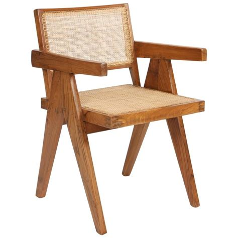 cane armchair pierre jeanneret armchair called quot office cane chairs quot at