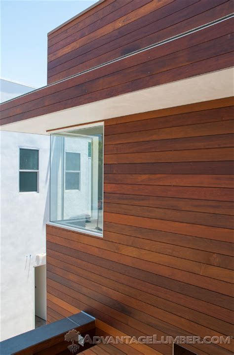 Shiplap Paneling For Sale Ipe Shiplap Siding Encino Ca Contemporary Exterior