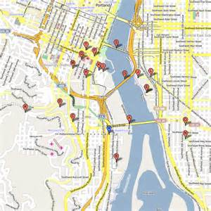 Portland Tram Map by Portland Aerial Tram Portland United States Reviews