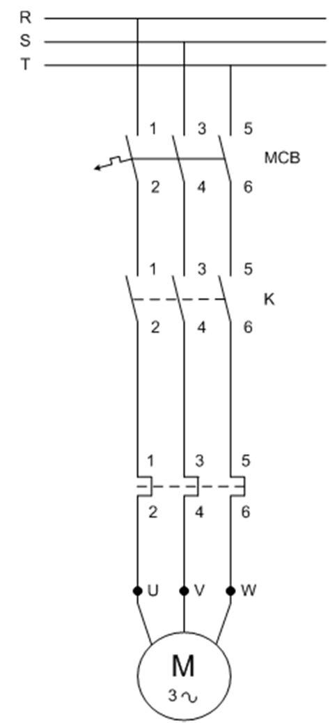 Push Button Hoist 2 Tombol ichsan025104 memasang instalasi motor 3 fasa menggunakan