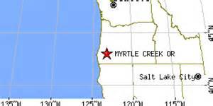 myrtle creek oregon or population data races