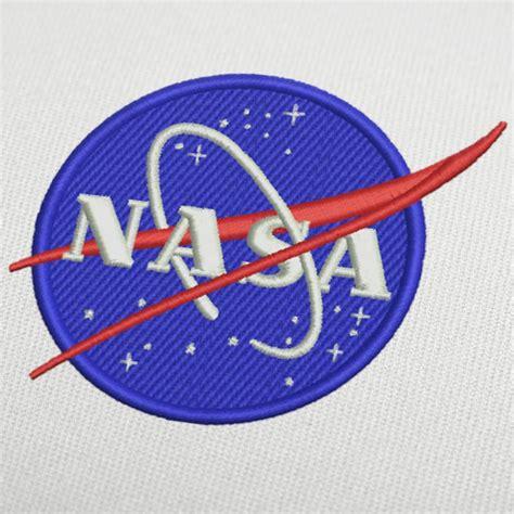 design a logo for embroidery nasa logo embroidery design