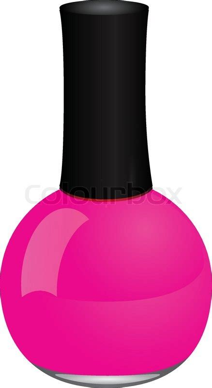 Colour Box Nail nail stock vector colourbox