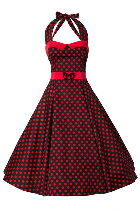 polka dot swing dress 50s stella sweetheart doll red polka dot swing dress